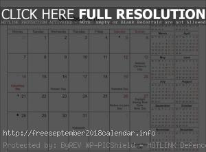 Printable Moon October Calendar 2019
